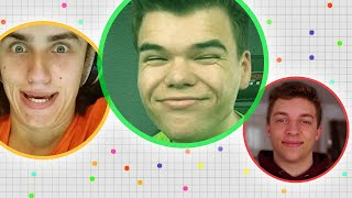 TAKING OVER AGAR.IO!! (Agar.IO Funny Moments)