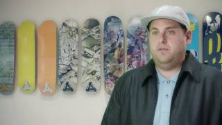 Jonah Hill for Palace x Reebok Collaboration