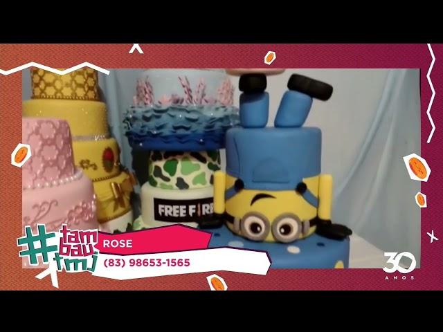 Tambaú TMJ: Rose Calixto Bolos - 06 05 2021 - O Povo na TV