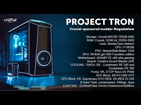 TRON Custom Gaming PC MOD