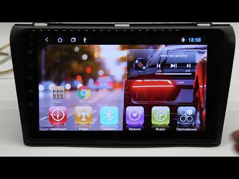 Штатная магнитола на Mazda 3 2003-2008 Android с GPS