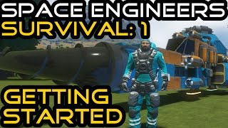 Space Engineers Planet Survival: 1