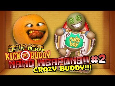 Kick the Buddy: Nano Weapons #2 - CRAZY BUDDY!!!