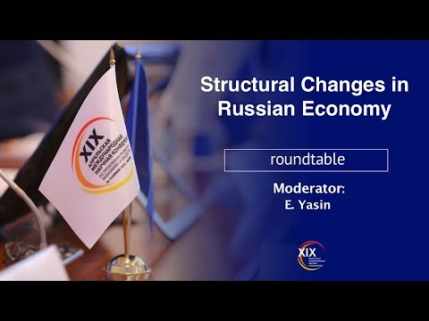 Structural Changes in Russian Economy