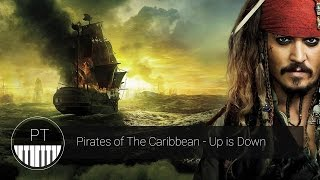 Pirates of the Caribbean - Up is Down Piano Tutorial
