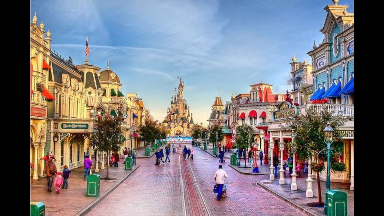 CALIFORNIA HERITAGE Disneyland 002 Main Street USA - YouTube