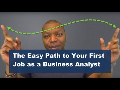 The Simple Path to Becoming a Business Analyst from your Current Job