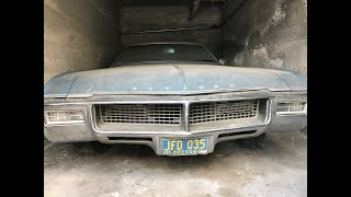 Barn Find 1968 Buick Riviera GS ....Will it Run? (CTR-177)
