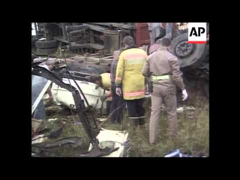 South Africa - Aftermath of bus crash