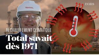 Total connaissait l'impact de ses activités sur le réchauffement climatique depuis 1971