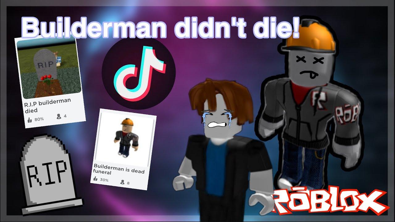 Roblox R.I.P Builderman games....   YouTube
