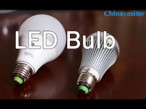 LED Bulb - How It Work In Dark Environment? Check Review Video