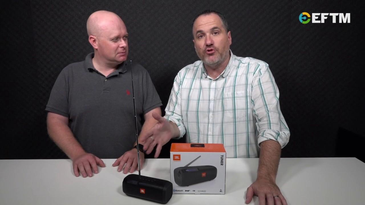 jbl tuner portable bluetooth speaker with digital radio. Black Bedroom Furniture Sets. Home Design Ideas