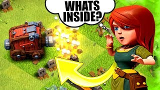 WHATS THE BEST TROOP TO PUT IN A WALL WRECKER!? - Clash Of Clans