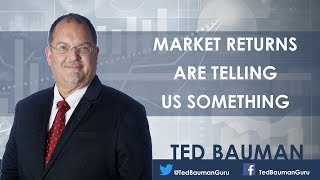 Market Returns Are Telling Us Something  - Ted Bauman