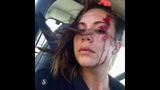 Girl Huge Longboard Faceplant
