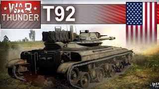 T92 w zimie - zimno panie! - War Thunder