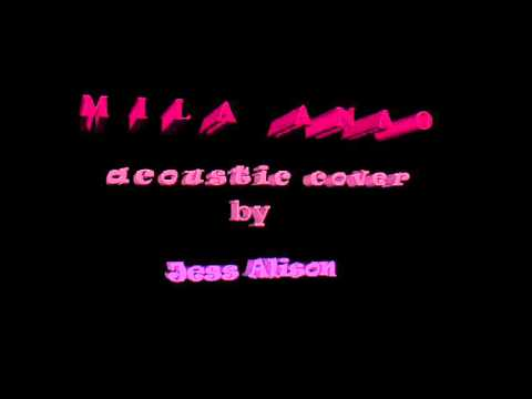 Mila anao - Jess Alison (cover acoustic)