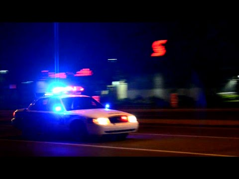 LAVAL QUEBEC CROWN VIC POLICE CAR RESPONDING