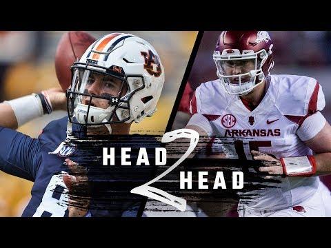 Head to Head: Auburn vs. Arkansas