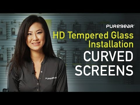 PureGear HD Tempered Glass Installation for Curved Screens