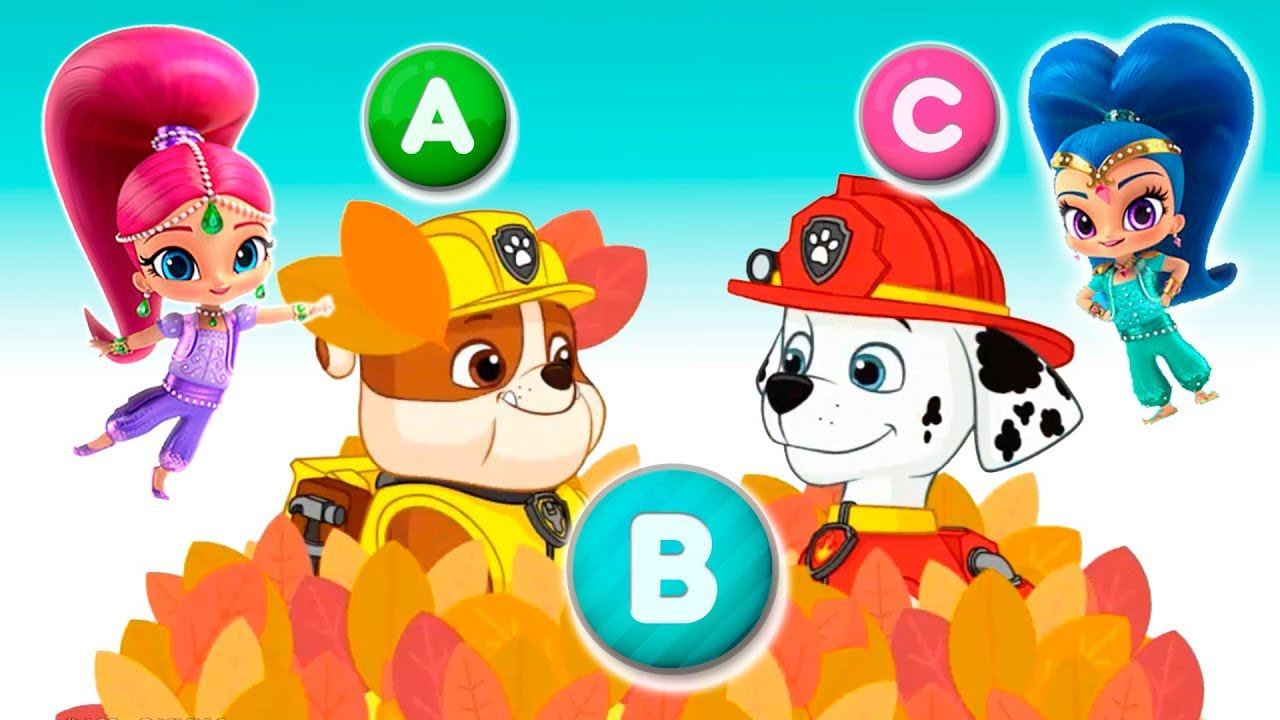 Learn ABCs With Paw Patrol And Friends Alphabet YouTube
