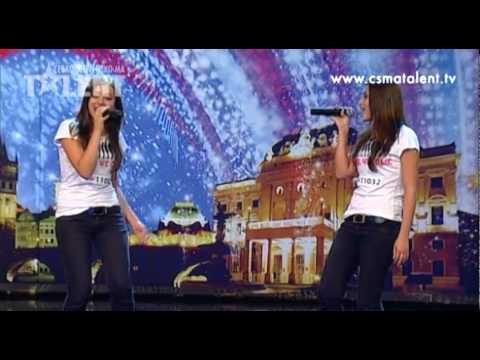 Zuzana a Eva Kollmanové | Česko Slovensko má talent 2011