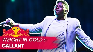 Gallant - Weight in Gold | LIVE | Red Bull Music
