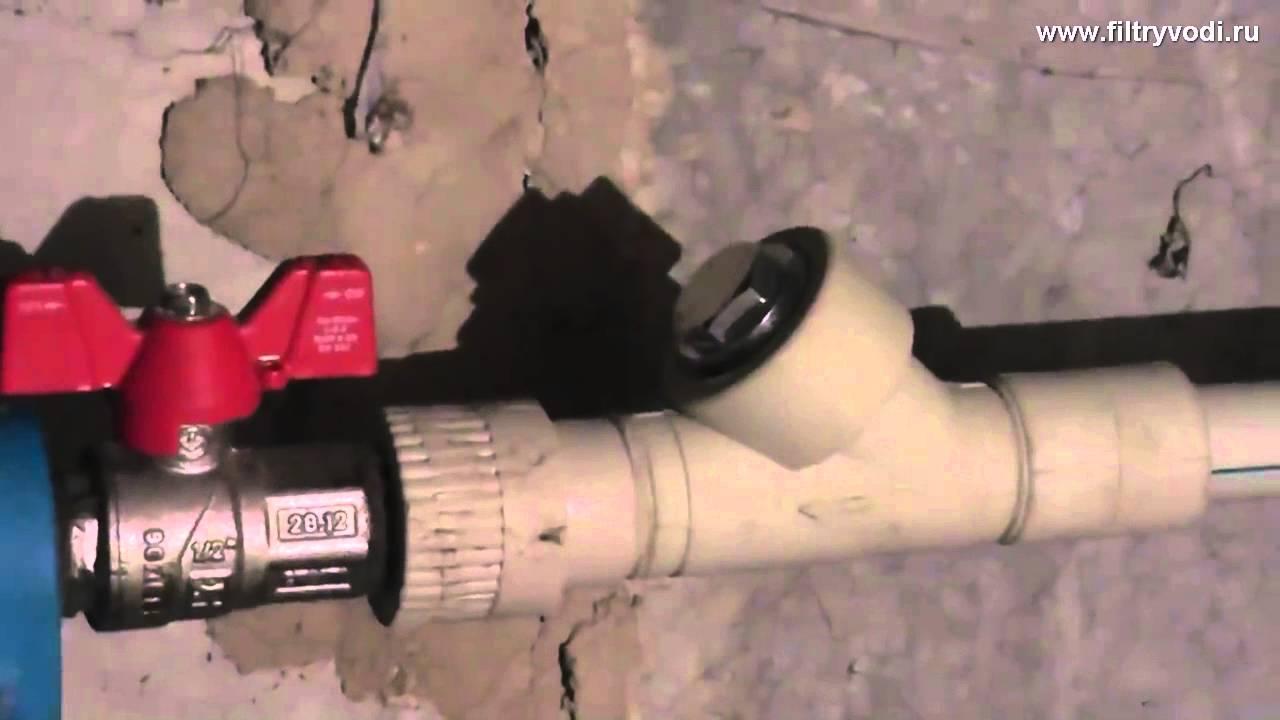 Монтаж водопровода в частном доме своими руками от своей скважины