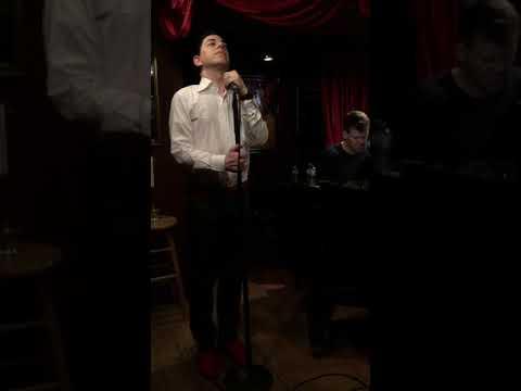 "Malan Breton Sings ""nature Boy"" From The Film ""Moulin Rouge"" Accompanied By Nate Buccieri"