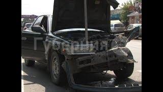 Начинающий автолюбитель попал в аварию по дороге в ГИБДД в Хабаровске. Mestoprotv