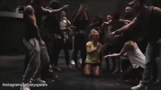 Britney Spears Mannequin Challenge Slumber Party