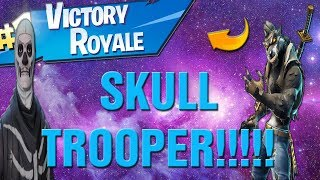 Fortnite SKELETON SKIN TOMORROW! Fortnite Bone Chilling Gear SKULL TROOPER TOMORROW! :)