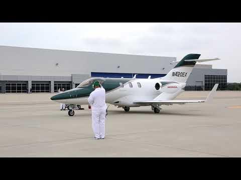 HondaJet First Flight   Business Traveller