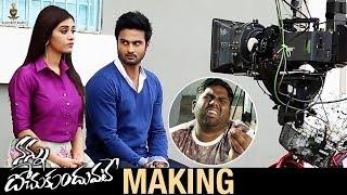 Nannu Dochukunduvate Movie Making | Sudheer Babu | Nabha Natesh | Sudheer Babu Productions