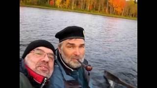 Рыбалка на Кожозере в сентябре 2013 года