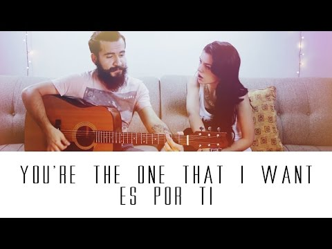 You're The One That I Want / Es Por Ti - Grease / Juanes - LucasElMostacho (Cover)