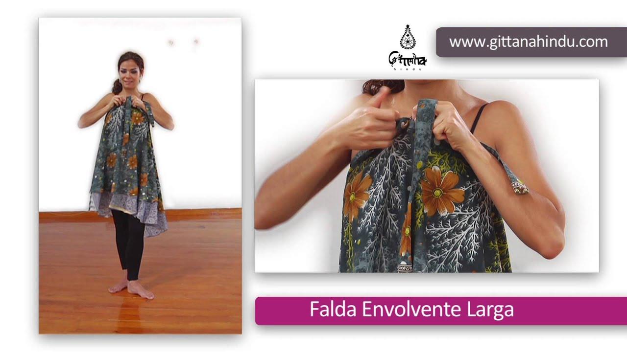 Larga Falda Falda Envolvente Envolvente txv6BqP