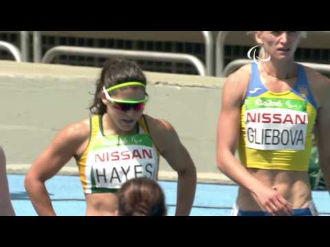 Athletics | Women's 100m - T13 Final | Rio 2016 Paralympic Games