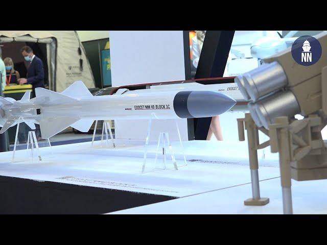 MBDA at DEFEA 2021: Exocet MM40 Block 3C and Coastal Defense System