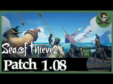 Sea of Thieves NEWS: Patch 1.08 / Quest abbrechen / Neue Effekte / Farbblinden-Modus #SeaofThieves