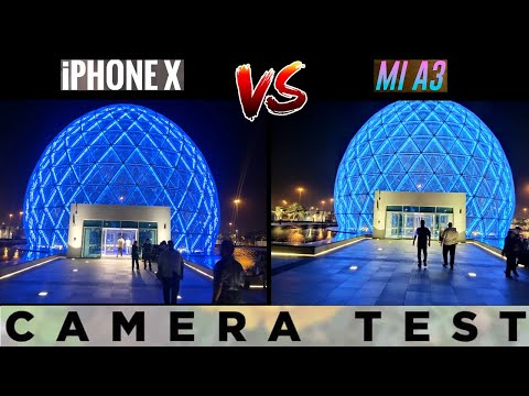 Xiaomi Mi A3 vs iPhone X Camera Comparison🔥