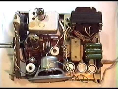 Ламповый УКВ радиоприемник