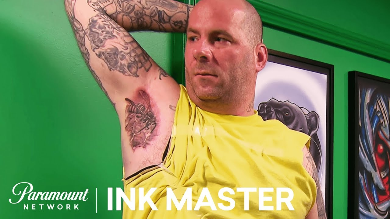 Head To Head Armpits Pt 2 Elimination Tattoo Ink Master Shop Wars Season 9