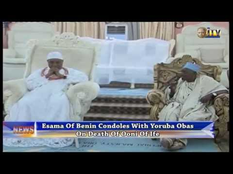 Esama Of Benin Condoles With Yoruba Obas On Death Of Ooni Of Ife