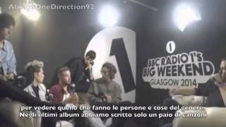 One Direction BBC 1's Big Weekend 24/05/2014 - SUB ITA