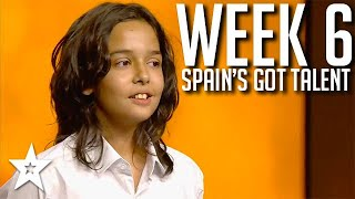Spain's Got Talent 2021 AUDITIONS | WEEK 6 | Got Talent Global