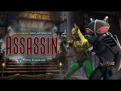 NEW Assassin Time Capsule