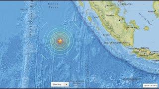 Ini Penampakan Pusat Gempa Mentawai 7,8 SR