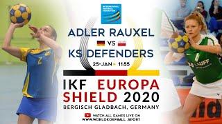 IKF ES 2020 KV Adler Rauxel - KS Defenders Korfball Wrocław